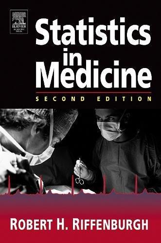 Statistics in Medicine 9780120887705