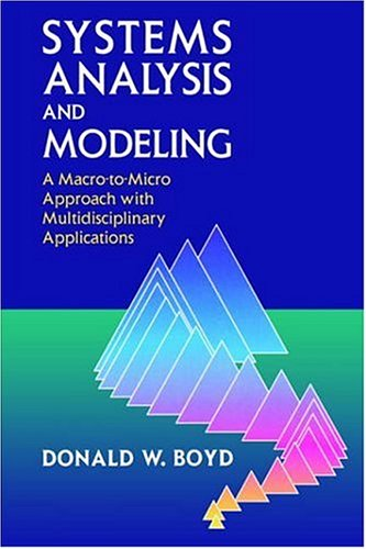 Systems Analysis and Modeling: A Macro-To-Micro Approach with Multidisciplinary Applications 9780121218515