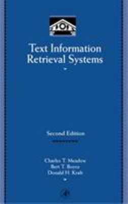 Text Information Retrieval Systems 9780124874053