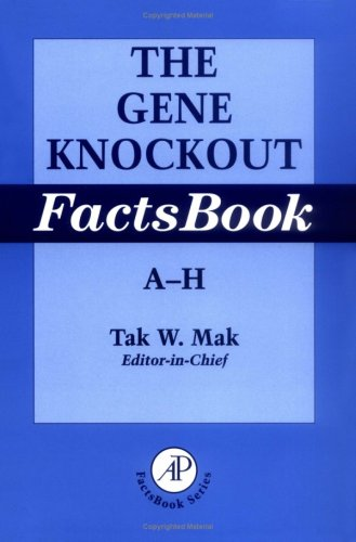The Gene Knockout Factsbook, Two-Volume Set 9780124660441