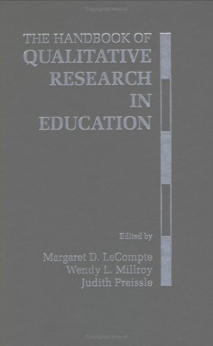 The Handbook of Qualitative Research in Education 9780124405707