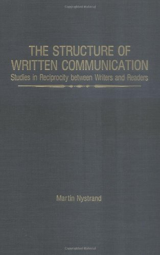 The Structure of Written Communication 9780125234825