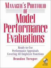 Manager's Portfolio of Model Performance Evaluations with CDROM 9020688