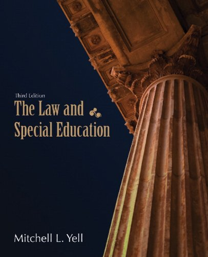 The Law and Special Education 9780131376090
