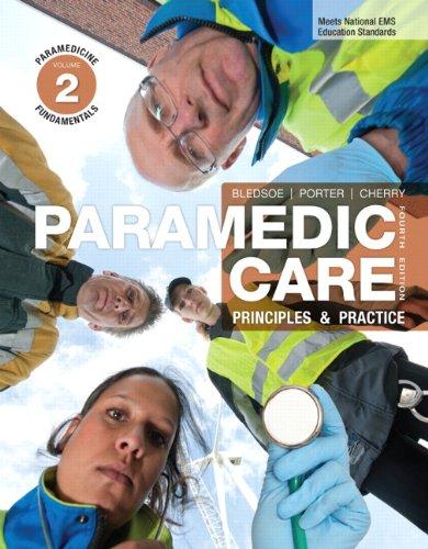 Paramedicine Fundamentals 9780132112178