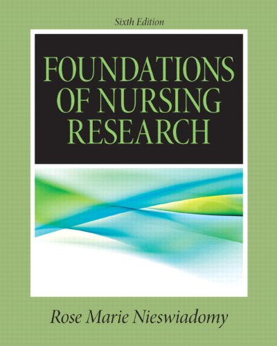 Foundations of Nursing Research 9780132118576