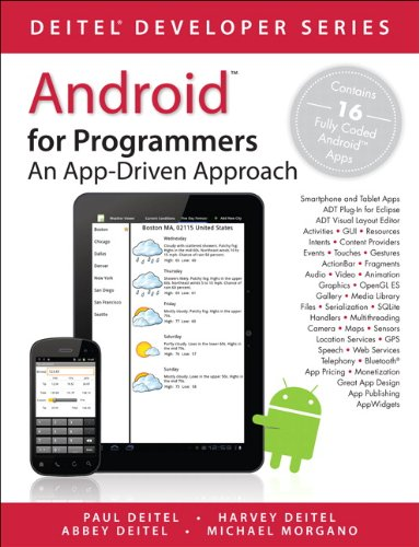 Android for Programmers: An App-Driven Approach 9780132121361