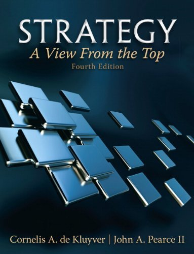 Strategy: A View from the Top (an Executive Perspective) 9780132145626