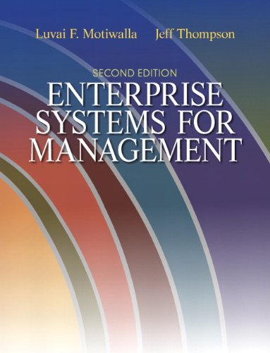 Enterprise Systems for Management 9780132145763