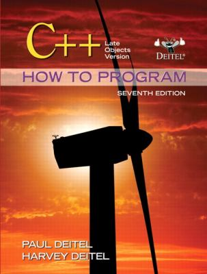C++ How to Program: Late Objects Version [With Access Code] 9780132165419