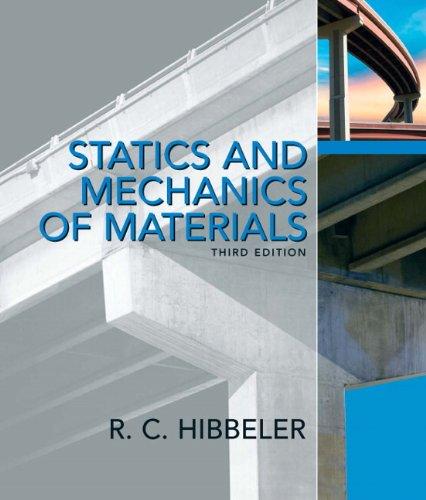 Statics and Mechanics of Materials 9780132166744