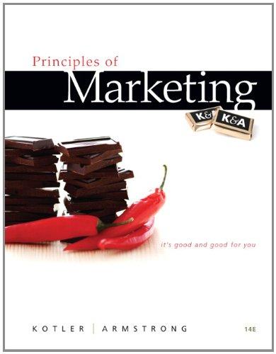 Principles of Marketing 9780132167123