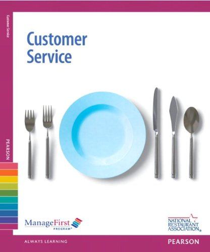 Managefirst: Customer Service with Answer Sheet 9780132179324