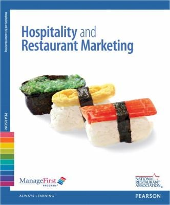 Managefirst: Hospitality & Restaurant Marketing with Answer Sheet 9780132181662