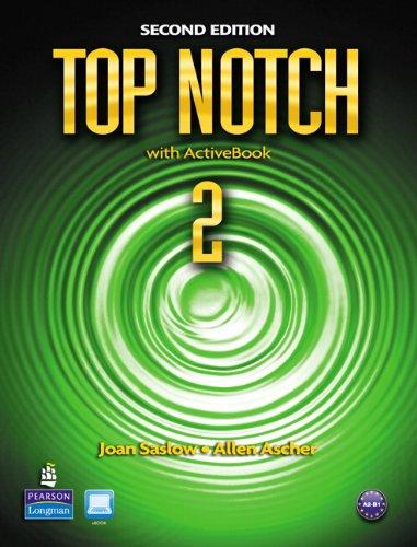 Top Notch 2 with Activebook 9780132455589