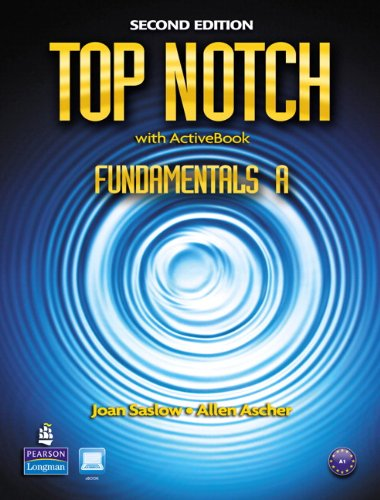 Top Notch Fundamentals a Split: Student Book with Activebook and Workbook 9780132469890