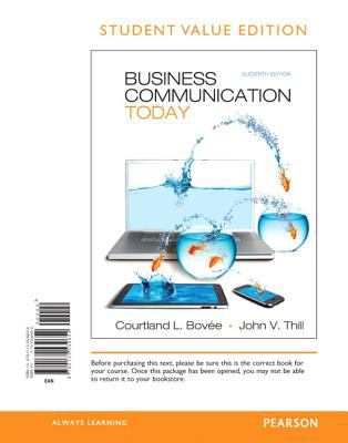 Business Communication Today 9780132539654