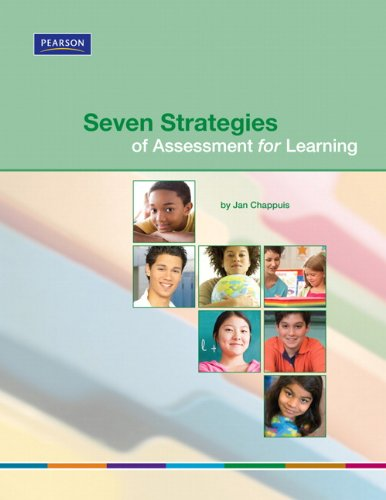 Seven Strategies of Assessment for Learning 9780132548755