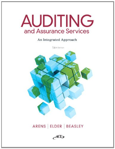 Auditing and Assurance Services: An Integrated Approach [With CDROM] 9780132575959