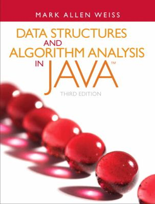 Data Structures and Algorithm Analysis in Java 9780132576277