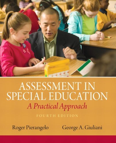 Assessment in Special Education: A Practical Approach 9780132613262