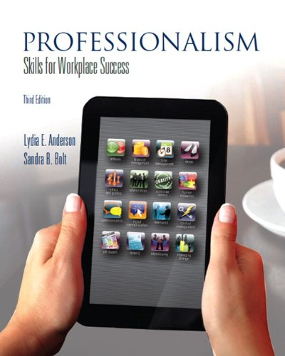Professionalism: Skills for Workplace Success