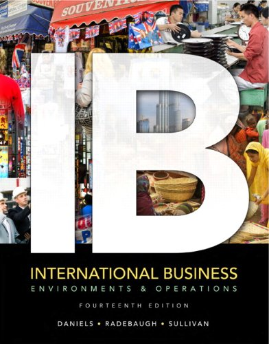International Business: Environments and Operations - 14th Edition