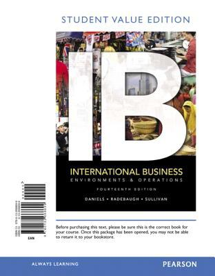 International Business, Student Value Edition - 14th Edition