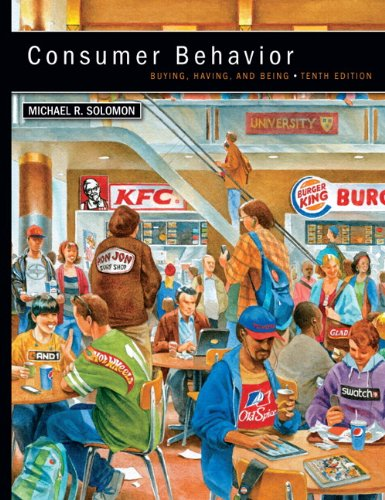 Consumer Behavior: Buying, Having, and Being 9780132671842