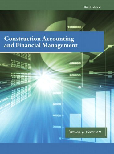 Construction Accounting and Financial Management 9780132675055