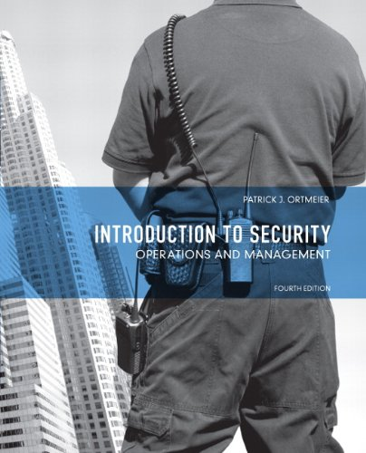 Introduction to Security: Operations and Management 9780132682954