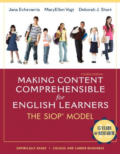 Making Content Comprehensible for English Learners: The Siop Model 9780132689724