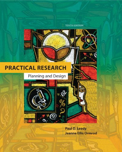 Practical Research: Planning and Design 9780132693240
