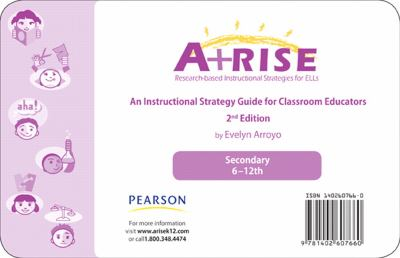 Arise Instructional Strategy Card Set 6-12 9780132700221