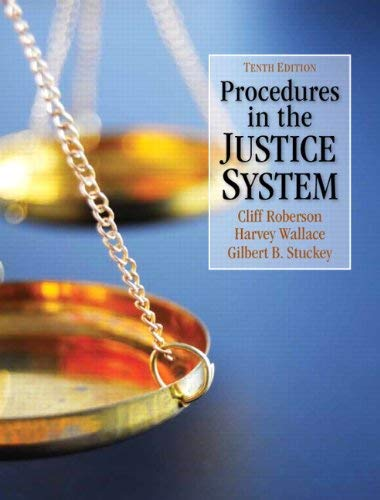 Procedures in the Justice System 9780132705844