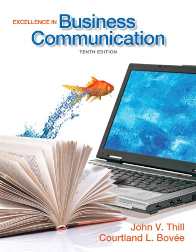 Excellence in Business Communication 9780132719049