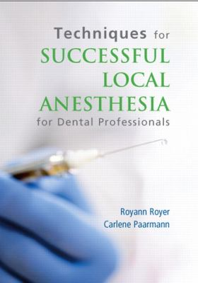 Techniques for Successful Local Anesthesia DVD 9780132725392