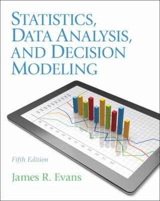 Statistics, Data Analysis, and Decision Modeling 9780132744287