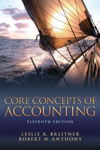 Core Concepts of Accounting 9780132744393