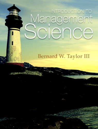 Introduction to Management Science 9780132751919