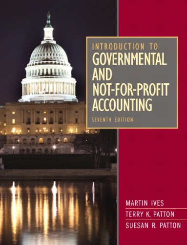 Introduction to Governmental and Not-For-Profit Accounting 9780132776011