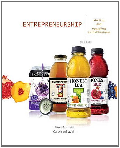 Entrepreneurship: Starting and Operating a Small Business 9780132784085
