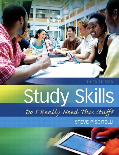 Study Skills: Do I Really Need This Stuff? 9780132789516