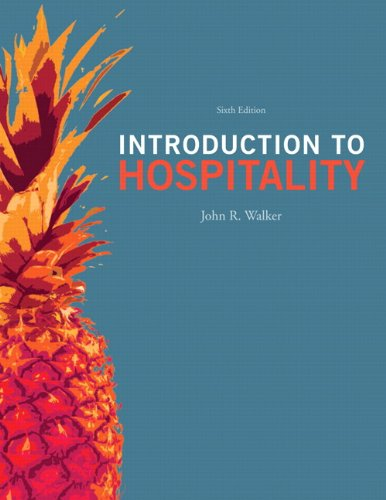 Introduction to Hospitality 9780132814652