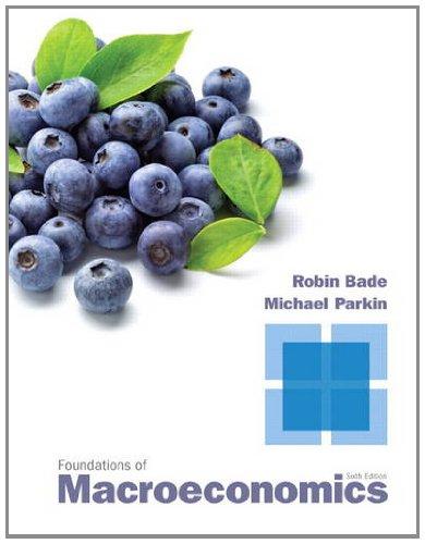 Foundations of Macroeconomics - 6th Edition