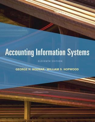 Accounting Information Systems - 11th Edition