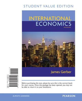 International Economics, Student Value Edition 9780132890724