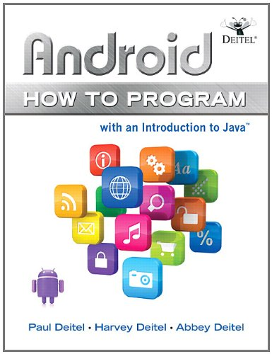 Android: How to Program 9780132990547