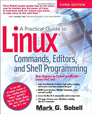 A Practical Guide to Linux Commands, Editors, and Shell Programming 9780133085044