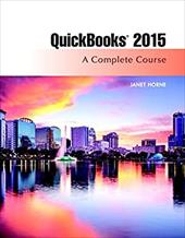 QuickBooks 2015: A Complete Course (Without Software) (16th Edition) 22758514